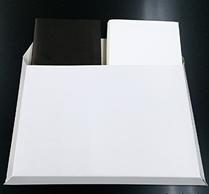 ハードカバー本2冊封筒画像